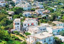 Villas Architecture On Capri Island