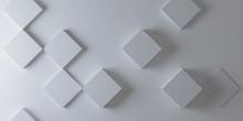 Abstract White Modern Architec...