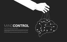 Hand Puppet Master Controlling...