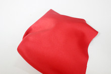 Red Silk Folded Fabric Backgro...