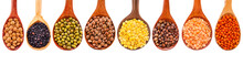Collection Of Various Lentils ...