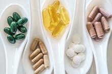 Top View Of Natural Vitamin Su...