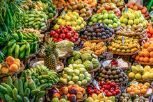 Fresh Exotic Fruits On Famous ...