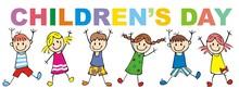 Children's Day, Group Of Littl...