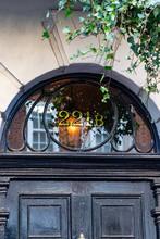 Sherlock Holmes Famous Front Door Address 221B Baker Street, London