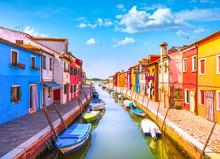 Venice Landmark, Burano Island...