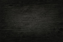 Black Wooden Wall Background, ...