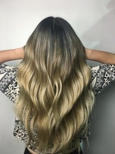 Ashy Blonde Ombre