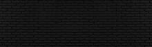 Abstract Black Brick Wall Text...