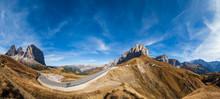 Autumn Alpine Dolomites Mounta...