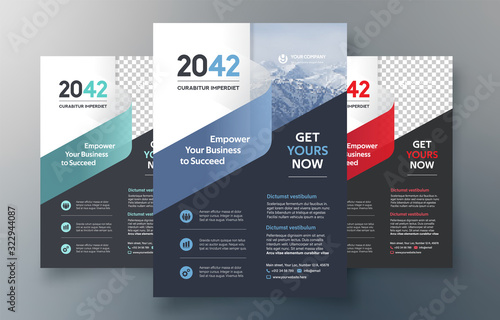 Fényképezés City Background Business Book Cover Design Template