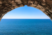 Old Stone Arch. View Of The Se...