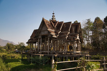 Zerfallener Tempel In Chiang K...