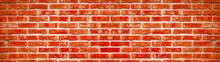 Fire Red Rustic Brick Wall Tex...