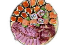 Assorted Sliced Tray. Ham Roll...