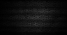 Black Texture With Brick Wall ...