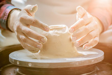 Hands Of A Potter, Creating An...
