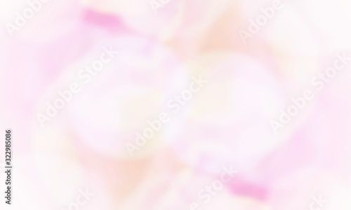 Vintage pink pastel bubbles Bokeh abstract background Wallpaper Mural