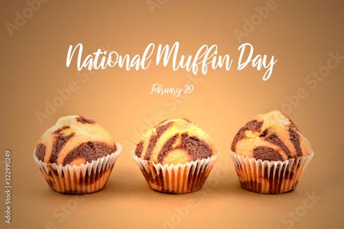 Obraz na plátně National Muffin Day