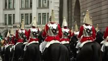 British Queen's Horse Guards I...