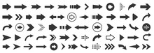 Arrow Icon. Mega Set Of Vector Arrows