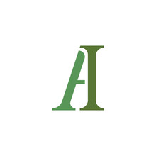 Initial Letter Ah Or Ha Logo Vector Design Template