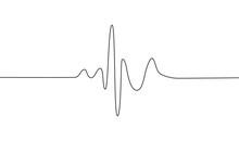 Human Heart And Rhythm Silhoue...