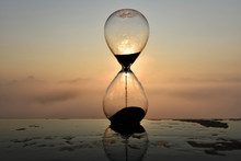 A Hourglass (with Falling Sand...
