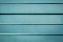 Teal Aqua Turquoise Metal Pane...