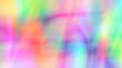 canvas print picture - bright multicolor tie dye gradient background