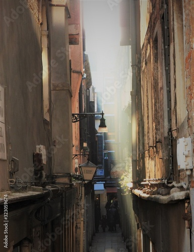 Photo street in rome italy