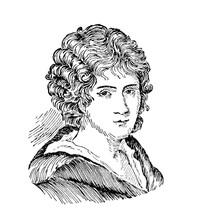 1800s Drawing Of Foscolo, Famo...