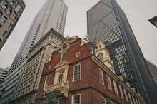 Old City Hall In Boston, USA