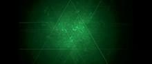 Toxic Green Kaleidoscope