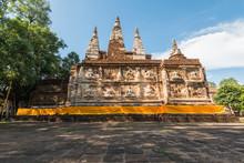 Wat Chet Yot, Seven Pagodas Temple In Chiangmai