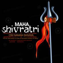 Happy Maha Shivratri. Trident ...