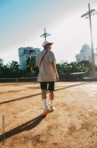 Streetwear and tenis Canvas Print