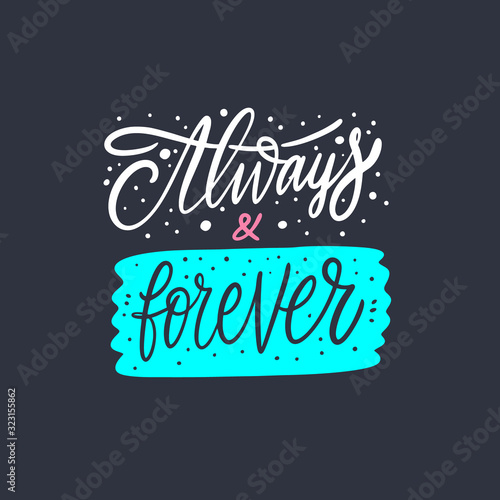 Always and forever Wallpaper Mural