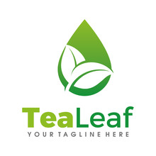 Leaf Tea Logo, Tea, Green Tea ...