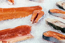 Fillets And Steaks Of Fish Sal...