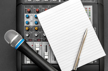 Notepad With Audio Sound Mixer...