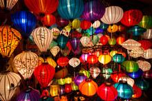 Vietnam Hoian Lanterns At Night