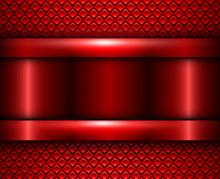 Background Red Metallic, Vecto...