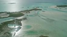 Island Sunrise Aerial