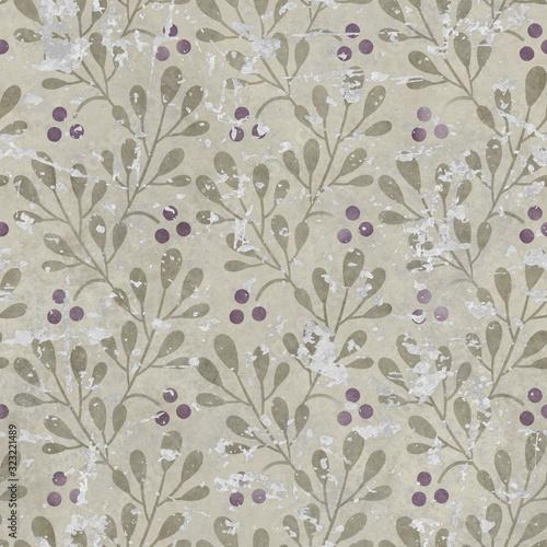 uszkadzajaca-tapetowa-bezszwowa-tekstura-grunge-tlo-kwiatu-wzor-3d-ilustracja