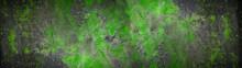 Green Black Gray Rustic Abstra...