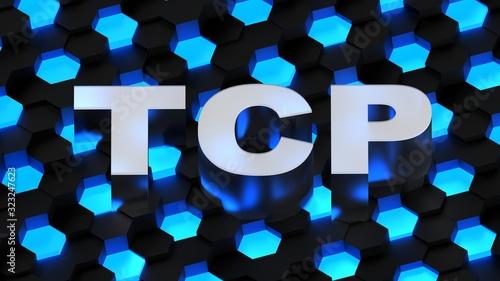 Photo TCP acronym (Transmission Control Protocol)