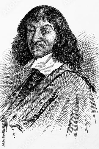 Fotomural René Descartes