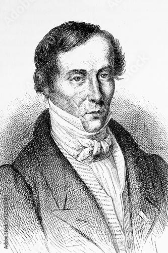 Obraz na plátne Augustin-Jean Fresnel