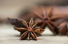 Star Anise With Or Without See...